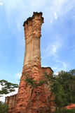 Isimila石器时期站点 免版税库存照片
