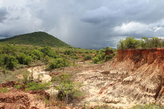 Isimila Stone Age Site Royalty Free Stock Photography