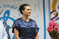 isinbayeva yelena 库存图片