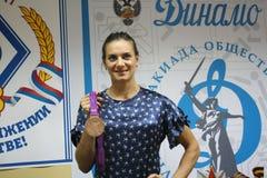 isinbayeva Yelena Στοκ Εικόνα