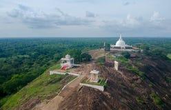 Isinbessagala Ruwangiri Rajamaha Viharaya Stockbilder