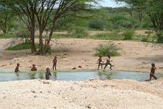 ISIOLO,肯尼亚- 2008年11月28日 库存图片