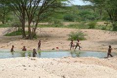 ISIOLO, KENYA - 28 NOVEMBRE 2008 Image stock