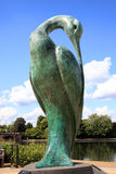 Isis. London, UK, Jun 11, 2011 : Isis sculpture named after the goddess of nature in Hyde Park on the bank of the Serpentine, helping to raise funds for a stock images