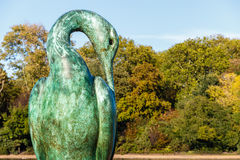 Isis Bronze Sculpture in Hyde Park royalty-vrije stock fotografie