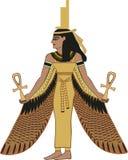 ISIS egipcio de la diosa stock de ilustración