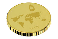 ISIS gold dinar Royalty Free Stock Photography