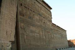 Isis Philae świątynia obraz stock