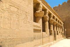isis-tempel royaltyfri foto