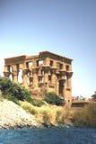 isis-tempel arkivfoto