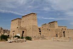Isis Temple de Philae em Egito Fotografia de Stock