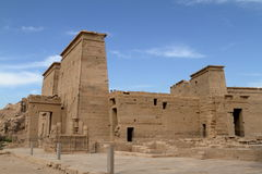 Isis Temple de Philae em Egito Fotografia de Stock Royalty Free