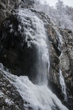 Iskall Boyana vattenfall Royaltyfria Foton