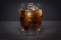 Iskall Cola arkivbild