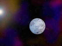 Iskall kall planet Fotografering för Bildbyråer