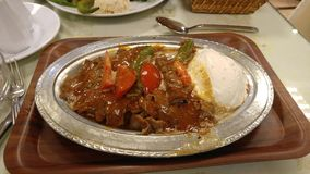 Iskander kebab Obrazy Stock