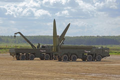 Iskander (SS-26 Stone) Stock Images