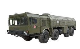 Iskander-Tactical ballistic missile Stock Photo
