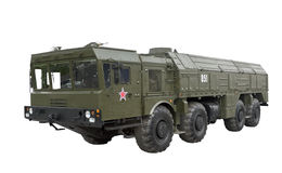 Iskander-Taktische ballistische Rakete Stockfoto