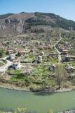 Iskar river in Bulgaria. Beautiful landscape from iskar gorge Royalty Free Stock Photography