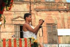 Iskcon Rath Yatra festival.Kolkata. Stock Image