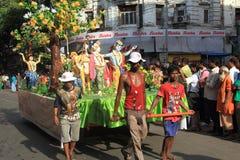 Iskcon Rath Yatra festival.Kolkata-1. Royalty Free Stock Images