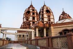 Iskcon Temple in Delhi royalty free stock images