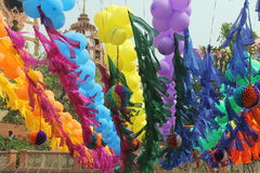 Iskcon Temple - Delhi, India Stock Photography