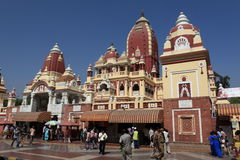 Iskcon Temple of New Delhi India Royalty Free Stock Photo