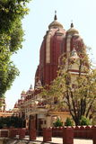 Iskcon Temple of New Delhi India Stock Photo