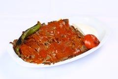 Iskender/турецкая традиционная еда Стоковые Фото