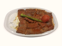 Iskender kebab Royalty Free Stock Photos