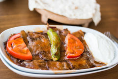 Iskender / Turkish Traditional Food Royalty Free Stock Image