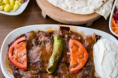 Iskender / Turkish Traditional Food Stock Image