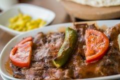 Iskender / Turkish Traditional Food Stock Photos
