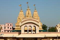 Iskon świątynny Ahmedabad, India - fotografia stock