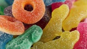 Iskrzaści cukierki zbiory wideo