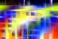 Iskrzaści kolorowi abstrakcjonistyczni cienie, geometrie, abstrakcjonistyczny tło, kolorowe geometrie royalty ilustracja