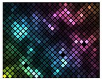 Iskrzasta mozaika Fotografia Stock