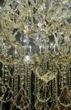 Iskrzasty krystaliczny świecznik Obrazy Royalty Free
