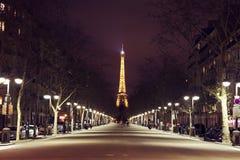 Iskrzasty Paryż Fotografia Royalty Free