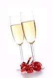 Iskrzasty wino Obrazy Royalty Free