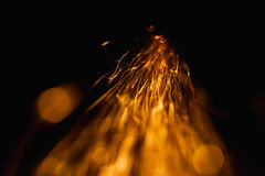 iskrzy kometę w jak zmrok Obraz Royalty Free