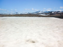Islândia, área vulcânica de Krafla Imagens de Stock Royalty Free