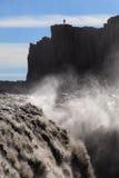 Islândia - Dettifoss Fotografia de Stock