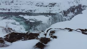 Islândia Gullfloss Imagens de Stock