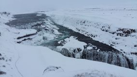 Islândia Gullfloss Foto de Stock Royalty Free