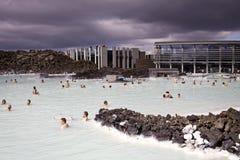 Islândia: Lagoa azul Fotos de Stock