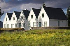 Islândia: Parque nacional de Thingvellir Fotos de Stock Royalty Free
