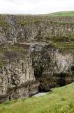 Islândia Queda-Europa Círculo-Gullfoss-Dourada dourada Foto de Stock